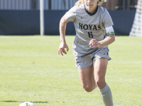 NATE MOULTON/THE HOYA Senior midfielder and Big East Offensive Player and Midfielder of the Year Daphne Corboz has 10 goals and 16 assists this season.