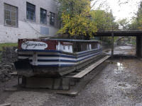 MARY MURTAGH/THE HOYA Georgetown Heritage, a new nonprofit organization, will oversee the renewal of the C&O Canal Boat, called the Georgetown, which has been out of commission since 2011.