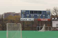 DANIEL SMITH/THE HOYA Kehoe Field's conditions create challenges for club sports teams.