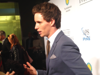"JESS KELHAM HOHLER/THE HOYA Eddie Redmayne talked about his experience working on ""The Theory of Everything"" at the film's D.C. premiere Friday."