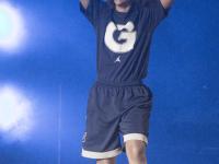 CLAIRE SOISSON/THE HOYA Co-captain guard Justyce Swango