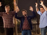 "HOLLYWOODREPORTER.COM In the new sequel ""Horrible Bosses 2,"" Jason Bateman), Dale (Charlie Day) and Kurt (Jason Sudeikis) involve themselves in a scheme that spins out of control."