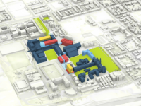 COURTESY GEORGETOWN UNIVERSITY Plans for the new buildings and add-ons are fluid and will be open to student input.