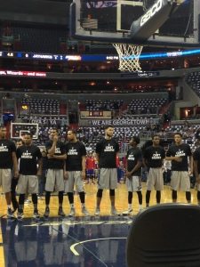 Georgetown Is the First College Team to Wear 'I Can't Breathe' T-shirts