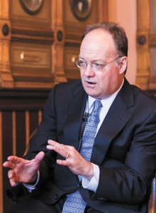 FILE PHOTO: ALEXANDER BROWN/THE HOYA President DeGioia was the 15th highest-paid university executive in 2012.