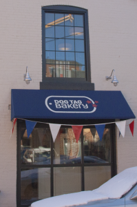 Dog Tag Bakery Supports Veterans