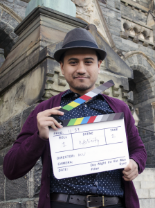 "DAN GANNON/THE HOYA Mesbah Uddin (SFS '15) has been pursuing a new filmmaking project titled ""11:59."""