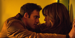 """UNIVERSAL PICTURES Jennifer Lopez and Ryan Guzman play Claire Peterson and Noah Sandborn in """"The Boy Next Door,"""" a film that tests the bounds between love and obsession."""
