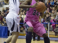 JULIA HENNRIKUS/THE HOYA Freshman guard Dorothy Adomako scored a team-high 25 points and grabbed nine rebounds in the Hoyas' overtime loss to then-No. 25 Seton Hall on Jan. 25.