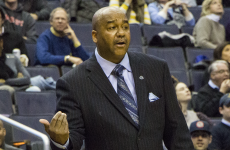 FILE PHOTO: CLAIRE SOISSON/THE HOYA Head Coach John Thompson III anticipates that the renewal of the local rivalry with Maryland will strengtthen the Hoyas' non-conference schedule.