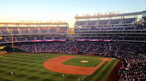 FILE PHOTO: DANIEL SMITH/THE HOYA  Nationals Park, home of the Washington Nationals, will host the 2018 Major League Baseball All-Star Game, marking the first time the city has hosted the game since the Nationals came to the nation's capital in 2005.