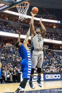 FILE PHOTO: MICHELLE XU/THE HOYA Joshua Smith scored 505 points and snared 234 rebounds in his two seasons at Georgetown