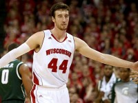 COURTESY MARY LANGENFELD- USA TODAY SPORTS Wisconsin's Frank Kaminsky is one of the most interesting prospects in the NBA Draft.