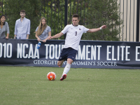 NAAZ MODAN/THE HOYA Junior forward Alex Muyl was named the Big East Offensive Player of the Week after he had a goal and two assists in Georgetown's two home wins.