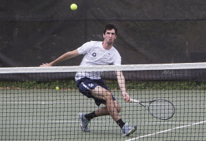 FILE PHOTO: JULIA HENNRIKUS/THE HOYA Junior Jordan Portner (above), along with partner Peter Beatty, fought through three rounds of intensive competition to reach the finals, before falling to GW.