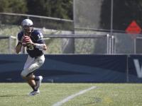 FILE PHOTO: JULIA HENNRIKUS/THE HOYA Quarterback Kyle Nolan