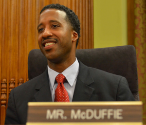 EXAMINER.COM Councilmember Kenyan McDuffie (D-Ward 5) is the primary sponsor of an act that offers social solutions to violent crime.