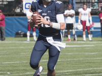 KARLA LEYJA FOR the hoya Senior quarterback Kyle Nolan threw for 311 yards and five touchdowns in Georgetown's 38-7 win over Lafayette. Nolan was named the Patriot League Offensive Player of the Week.