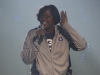 ISABEL BINAMIRA/THE HOYA Head Coach Natasha Adair enters her second season after becoming Georgetown's fourth head coach in four seasons last year.