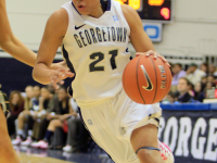 FILE PHOTO: ALEXANDER BROWN/THE HOYA Jackson averaged 4.2 points per game during her sophomore season in 2012-13.
