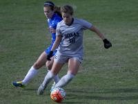 CAROLINE KENNEALLY/THE HOYA Sophomore midfielder Rachel Corboz scored once in Georgetown's win over Creighton last Friday. She has 10 goals on the season.