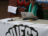 FILE PHOTO: KAYLA NOGUCHI/THE HOYA GU Fossil Free released a petition in January 2013 in support of diverstment that has garnered more than 2,000 signatures.