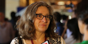"""COURTESY CHRISTINE FAIR School of Foreign Service professor Christine Fair garnered criticism from news outlets after delivering a pro-drone defense opposite reporter Glenn Greenwald on Al Jazeera's televised """"The Arena"""" program."""