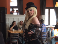 ELEANOR TOLF FOR THE HOYA  Perry's, a Japanese restaurant in Adams-Morgan, is a local mainstay famous for its drag queen-inspired Sunday brunch. The food itself is underwhelming for its price, but the atmosphere is the main draw.