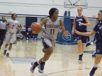 Women's Basketball | Hoyas Blow Late Lead in Home Loss