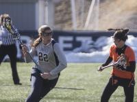 Women's Lacrosse | GU Sinks in Second Half