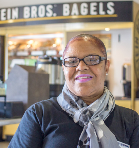 UNSUNG HEROES The Facebook page Unsung Heroes, which seeks to increase recognition for Georgetown's workers, has featured 11 posts, including food and service worker at Einstein Bagels Co. Frankie Carper.