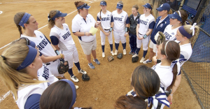 GUHOYAS The Georgetown softball team lost three games over the weekend to Creighton in its third Big East series of the season. The Hoyas   are 1-7 in conference play this season, with their only conference win coming in a 6-4 decision over St. John's on March 25.
