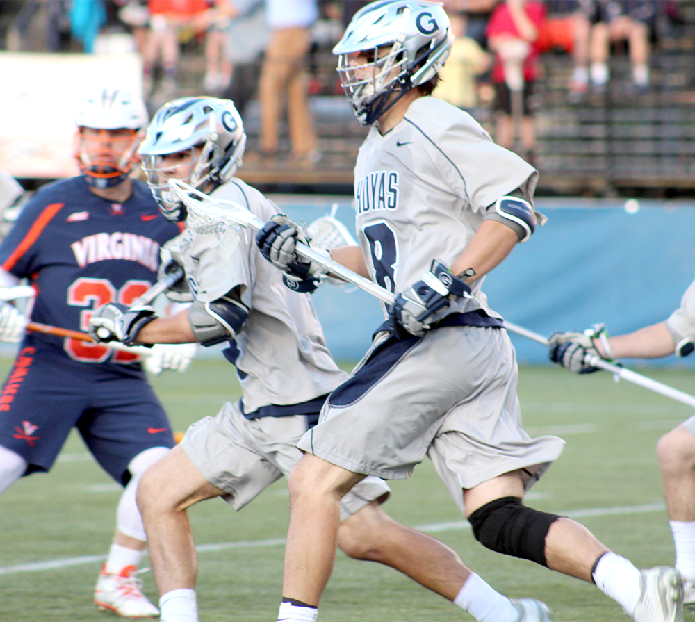 Men's Lacrosse | GU Falls 8-7 to UVA on Senior Night