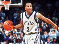 KLEAR.COM Former NBA star Allen Iverson averaged a program record of 23 points per game during his two-year career at Georgetown.