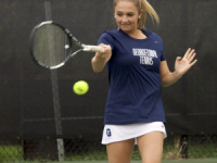 Tennis | GU Earns Decisive Wins at Home