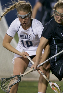 GUHOYAS Freshman Taylor Gebhardt was named to the Big East weekly Honor Roll after scoring three goals against Vanderbilt on Saturday.