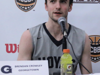 COURTESY NCBBA  Senior captain Brendan Crowley is one of six seniors on the club basketball team graduating this year.