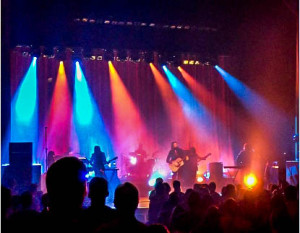 JOHN MILLER/ THE HOYA Father John Misty  played a diverse set to a sold-out crowd at Washington's historic Lincoln Theater.