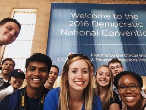 GU Politics Brings Students to National Political Conventions