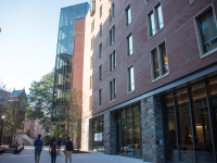 FILE PHOTO: NAAZ MODAN/THE HOYA Pedro Arrupe, S.J. Residence Hall is one