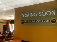 OWEN EAGAN/THE HOYA Epicurean and Company will add a new noodle bar feature to its location on Georgetown's campus. Renovations for the dining area will be completed in October, offering students new on-campus fare.