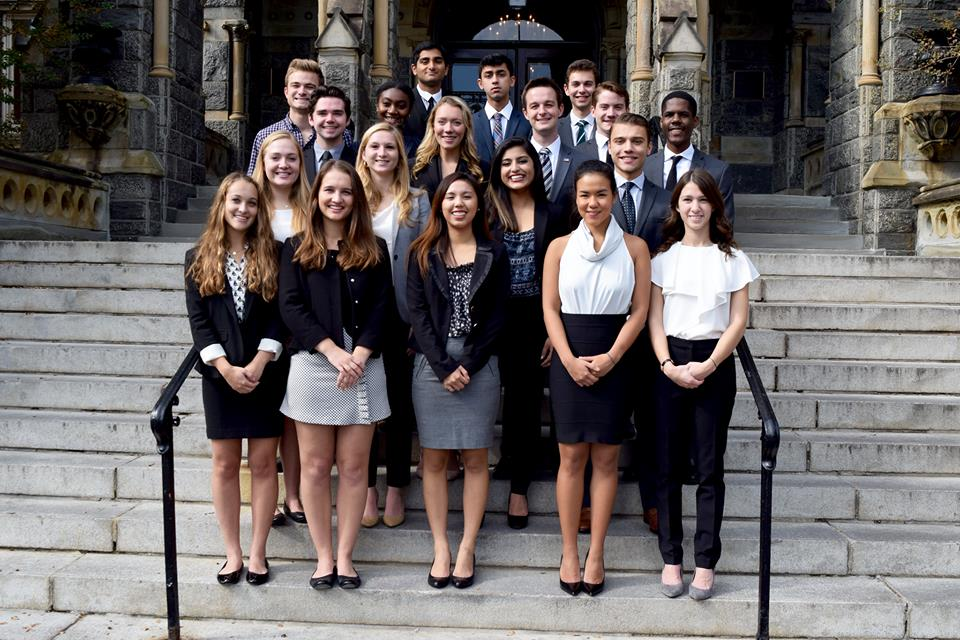 GEORGETOWN UNIVERSITY STUDENT ASSOCIATION The GUSA Federal Relations Team is working to improve outreach efforts and goals it set  when it first launched in early April following the GUSA executive elections.