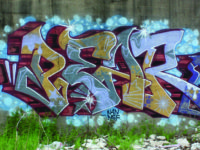 Graffiti in the District Under Siege