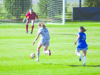 Women's Soccer   Strong First Half Propels GU to Victory