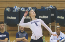 Volleyball | Hoyas Fall in Rivalry Bout