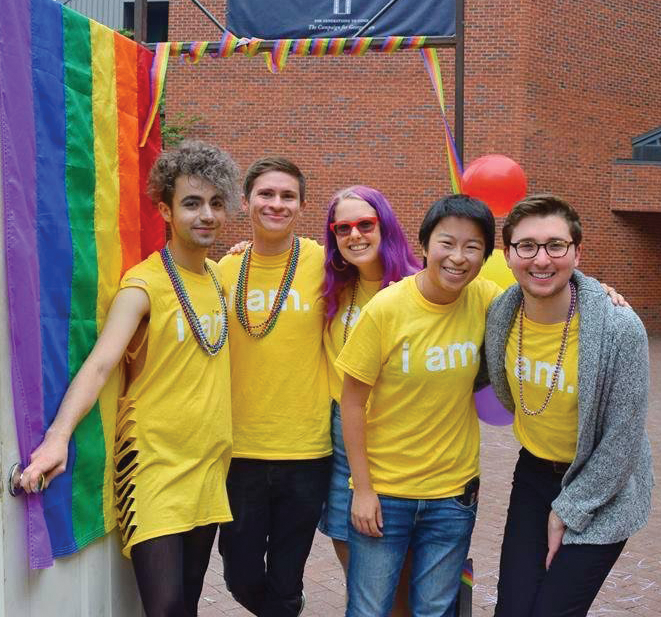 "COURTESY GU PRIDE ""Coming Out Day"" marked the beginning of ""OUTober,"" a six-week series of 14 events focusing on the personal and political histories of the LGBTQ community."