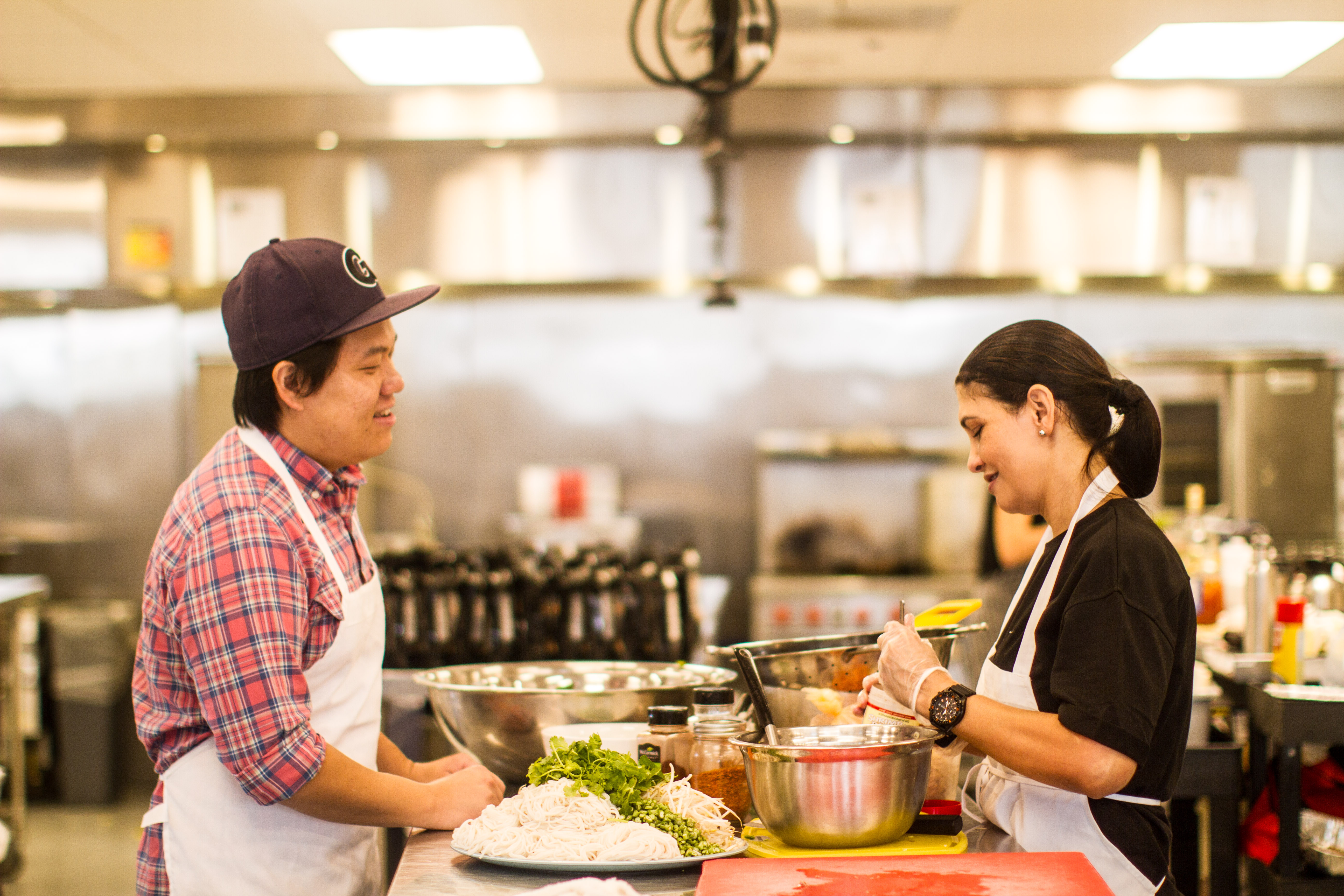 COURTESY FOODHINI Georgetown alumnus Noobtsaa Philip Vang launched Foodhini this week as a startup dedicated to helping immigrant chefs connect with customers seeking ethnic dishes.