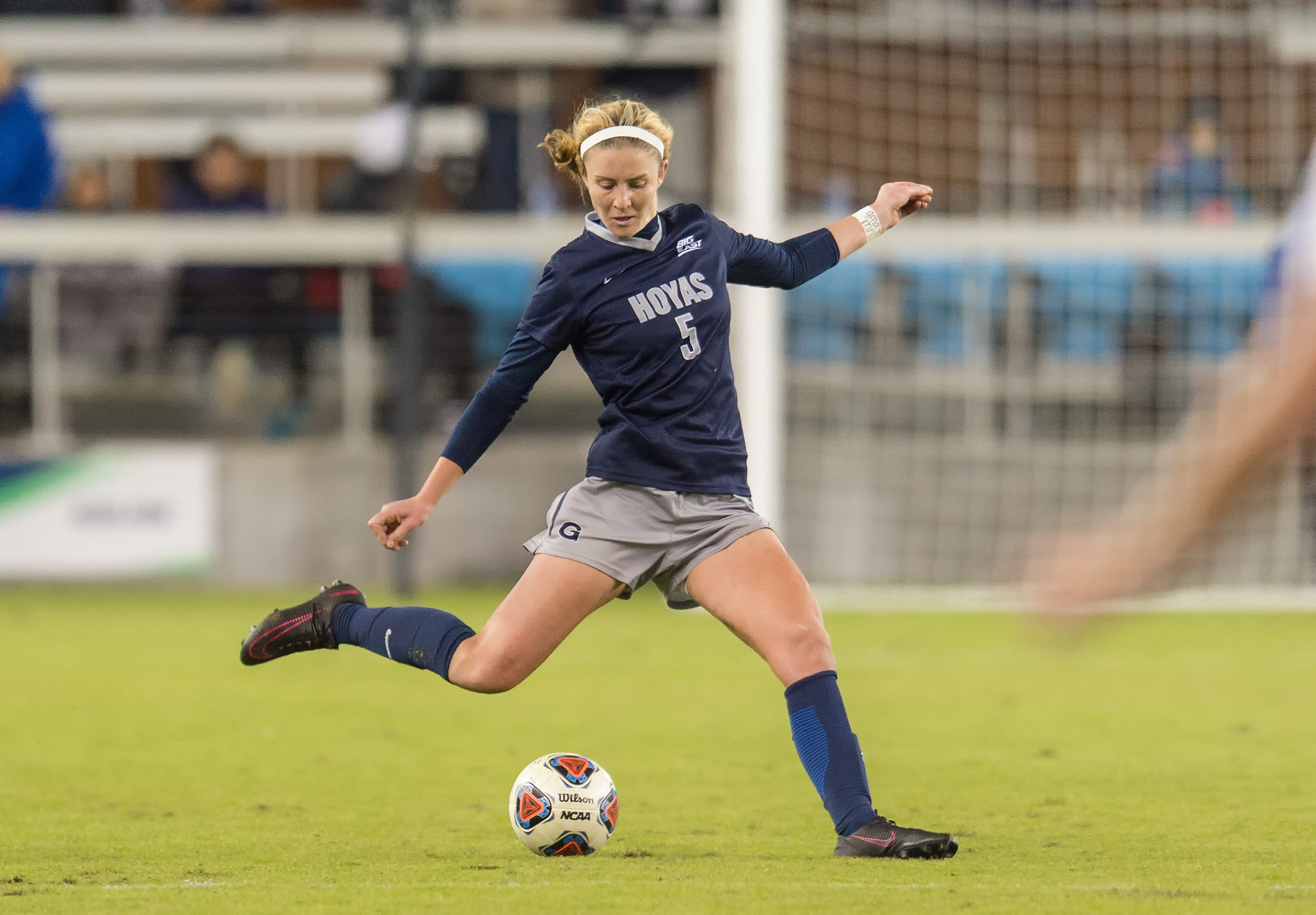 COURTESY GUHOYAS Graduate student defender Marina Paul started in 21 of the season's 26 games and scored four goals this year. The Hoyas' defense conceded only one goal during the NCAA tournament.