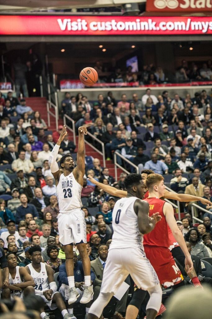 Men's Basketball | Hoyas Seek First Conference Win