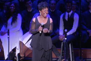 GEORGETOWN UNIVERSITY Seven-time Grammy Award winning artist Gladys Knight performed at the Let Freedom Ring Celebration honoring the legacy of Martin Luther King, Jr.